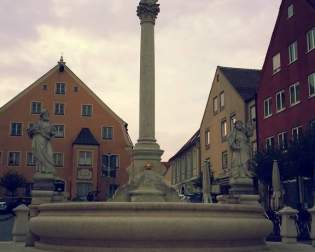 Marienfountain with Plague Column