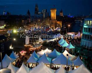 Cologne Harbour Christmas market