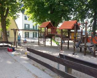 Playground at the River Lahn
