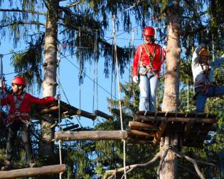 Forest Ropes Course Bichlbach