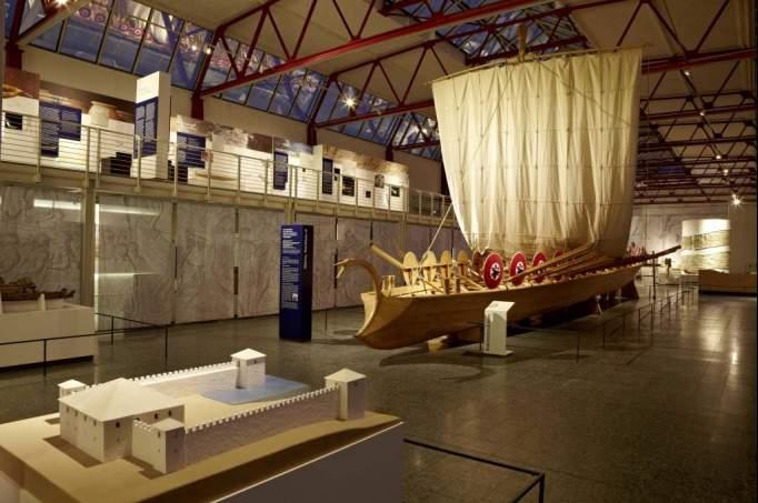 ausflugsziel museum f r antike schiffahrt in mainz. Black Bedroom Furniture Sets. Home Design Ideas