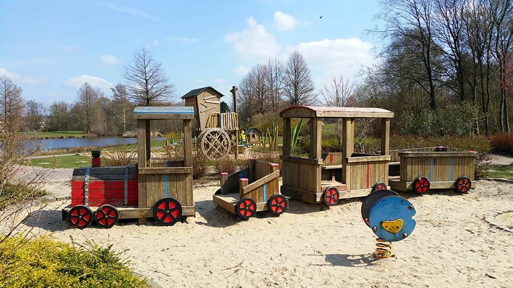 Local destination Castle Playground in Bad Bentheim