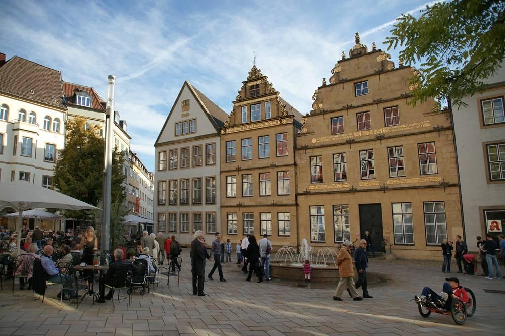 Ausflugsziel Alter Markt Bielefeld In Bielefeld
