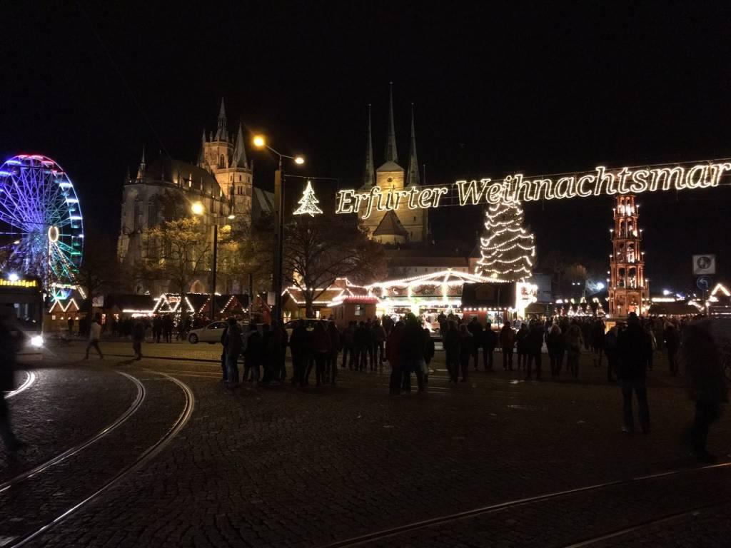 Weihnachtsmarkt Erfurt.Ausflugsziel Erfurter Weihnachtsmarkt In Erfurt Doatrip De