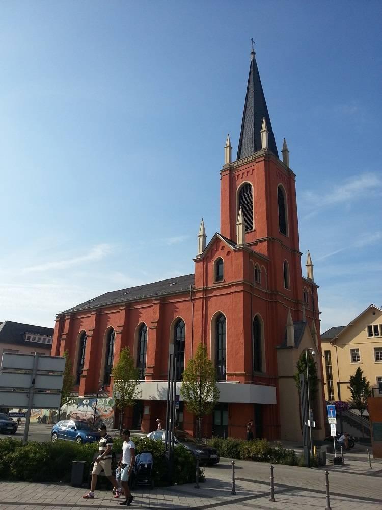 ausflugsziel evangelische kirche limburg in limburg an der lahn. Black Bedroom Furniture Sets. Home Design Ideas