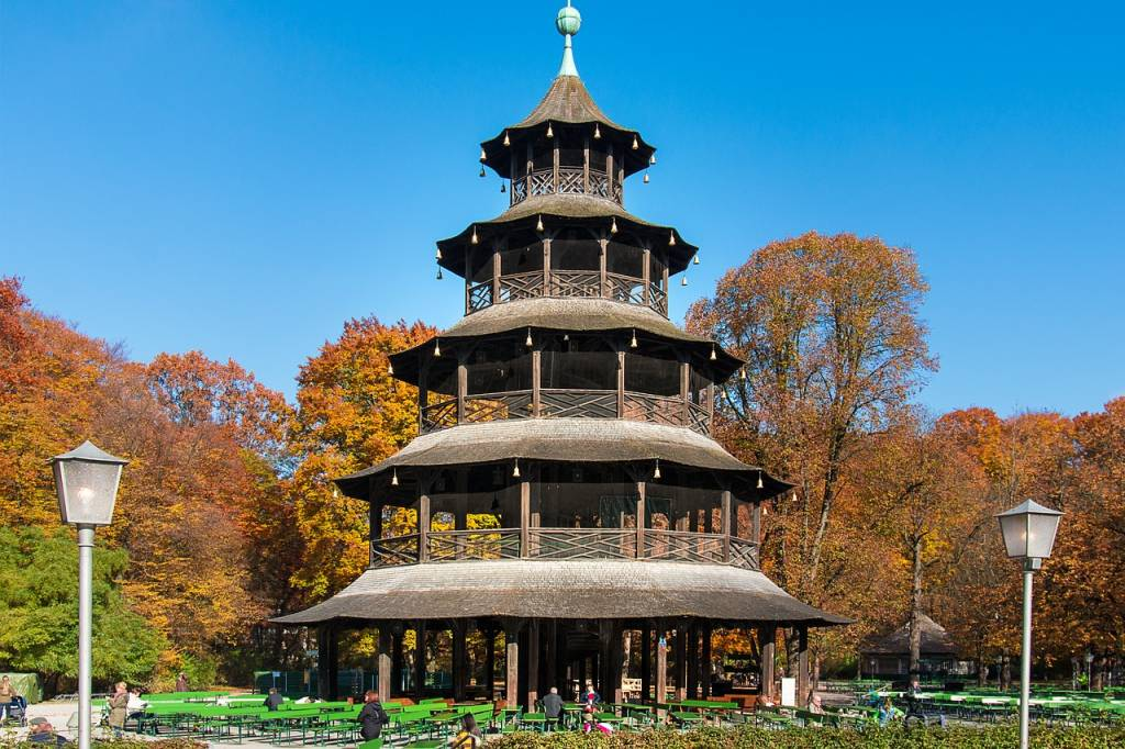 Englischer Garten Frankfurt information about leisure activities sights and places to visit in