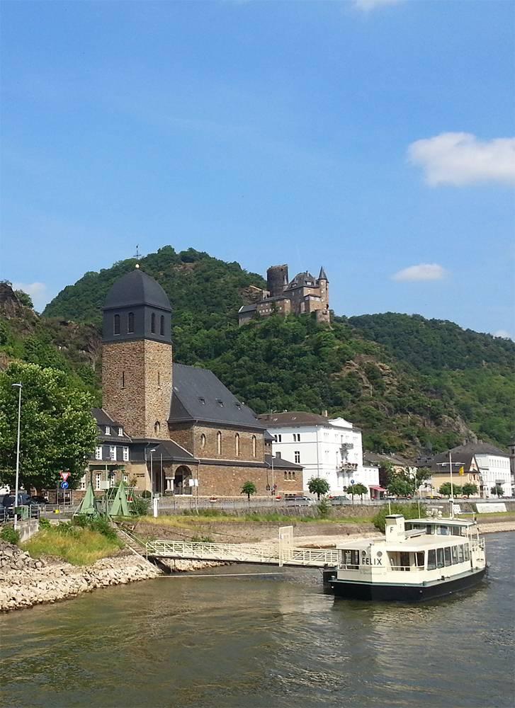 Ausflugsziel St Johannes In Sankt Goarshausen Doatrip De