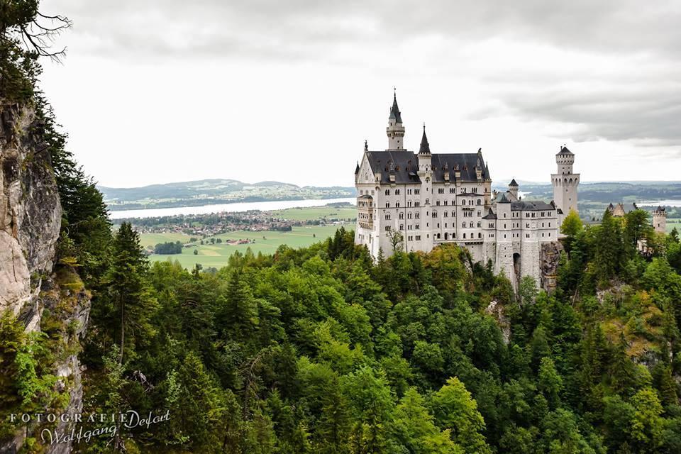 Local destination Neuschwanstein Castle in Schwangau
