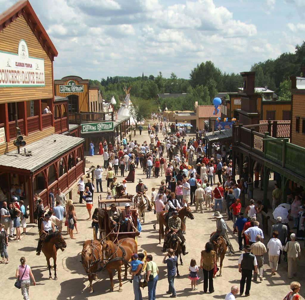 Ausflugsziel El Dorado Templin Die Westernstadt In